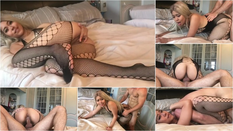 Planesgirl - Thick Blonde Asian gets Fucked? [HD 720P]