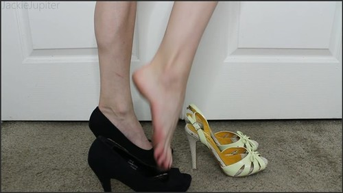 Modeling My Heels for You - JackieJupiter  - iwantclips