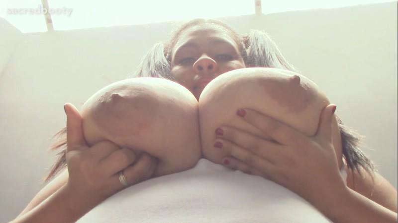 SacredBooty - Tina - Mega Busty Girl Next Door