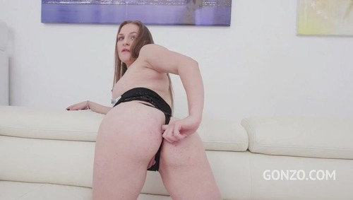 18 Years Old Bella Manning Assfucked Dped In Her First Porn Scene Sz2335 [SD]