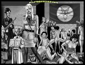 Milftoon Beach- Gitler Slave