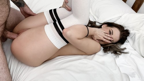 """Aubree Valentine in """"Sexy Brunette With Glasses Gets Fucked"""" [SD]"""