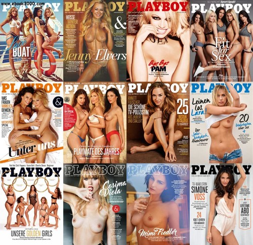Playboy Germany 2016 Complete Cover