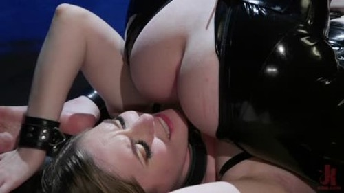 TSPussyHunters Ella Hollywood, Dresden - Greedy Latex Slut Ella Hollywood Fucks Dresdens Pussy and Ass - Trans, Shemale Porn Video