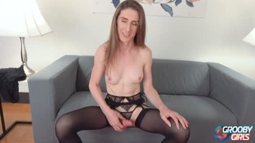 GroobyGirls - Meet Gorgeous Sunny Shines 30 November 2019 - Trans, Shemale Porn Video
