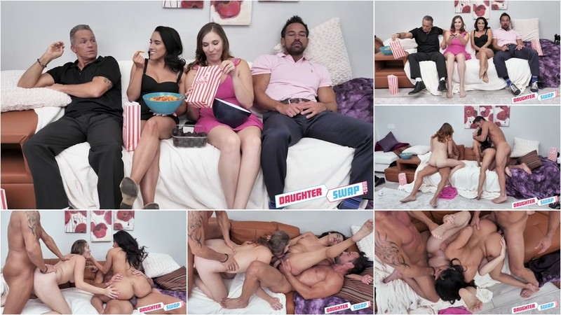Stephie Staar And Adrian Hush Cinephile Cum Swapping [FullHD 1080P]