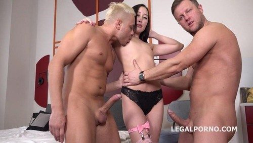 Liloo First Dp With Rough Sex, Balls Deep Dp, Manhandle And Cum In Mouth Gl099 [SD]