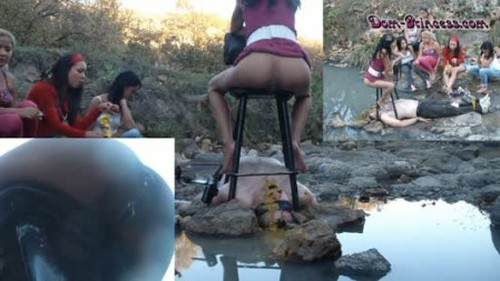 All Natural Trees Rivers and Shit Eating Pigs - Part 2 Diana - Femdom Scat, Humiliation Scat, Copro Video