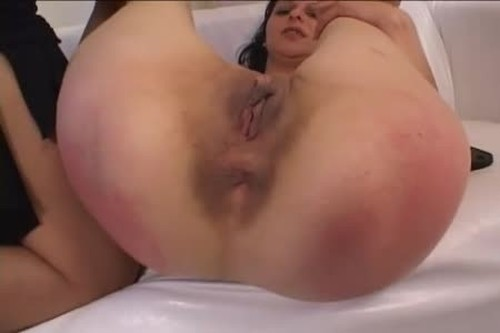 Sensual Red and Spread - Spanking and Whipping, Punishment