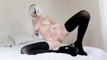 FirtsBornUnicorn - 2B Oiling & Fingering Herself, FHD