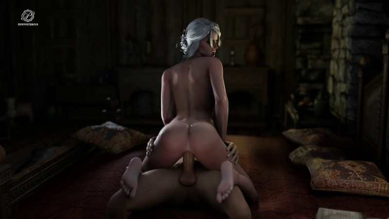 Ciri Riding Stranger Cock by Pewposterous | The Witcher 3