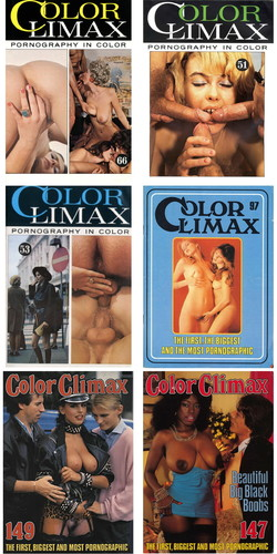 Color Climax Magazin Collection Cover