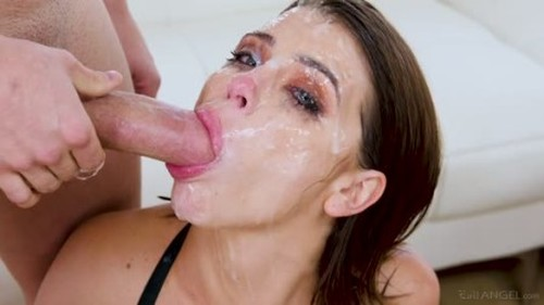 Adriana Chechik - Rough Double Deepthroat Fuck And Anal Sex To Rosebutt