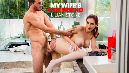 Lilian Stone Tries On Her Friends Lingerie And Gets Caught By The Husband [HD]