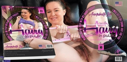 Hairy Mom Annabelle Lee Loves Public Flashing And Playing With Her Hairy Muff [FullHD]