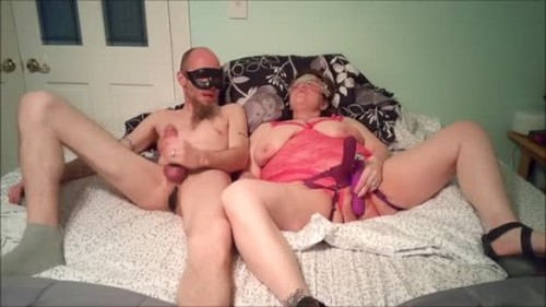 PinkAndFloyd - Horny Wife has Orgasm Pegging him Hard - Worship, Mistress, Femdom Porn