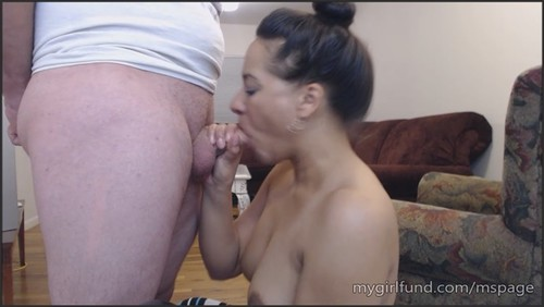 Please let me swallow your cum! - courtneypage  - iwantclips