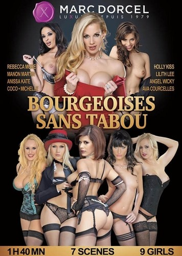 """Manon Martin, Anissa Kate, Ava Courcelles,Holly Kiss, Lilith Lee, Angel Wicky, Rebecca More,Coco, Michelle in """"Bourgeoises Sans Tabou"""" [SD]"""