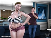 Crazydad3d - Father-in-law at home 13 - Full comic
