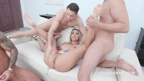 Naked Barefoot, Jolee Love 4On1 Balls Deep Anal, Dap, Gapes, Anal Fisting And Swallow Gio1345 [HD]