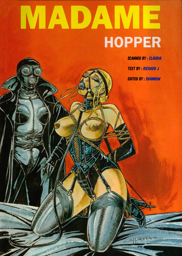 Comic Artist Hopper 10 Comics Cover