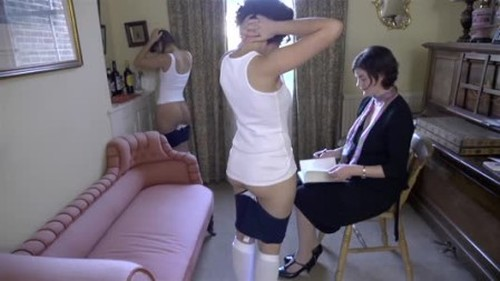 Marie and Rose Part Two - Spanking and Whipping, Punishment