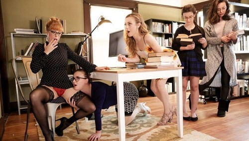 """Penny Pax, Karla Kush, Jay Taylor in """"The Library Is Now Closed"""" [FullHD]"""