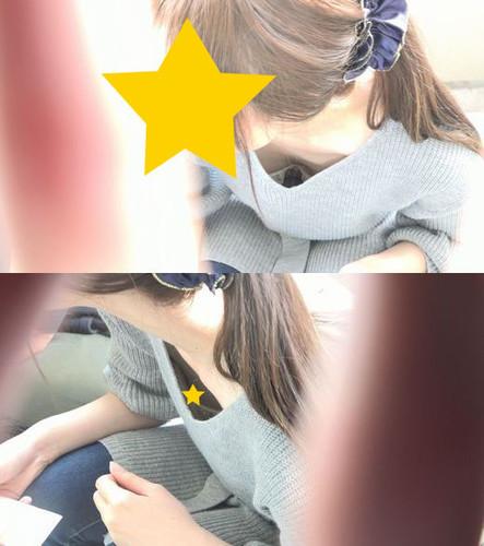 【若ママエロ乳首】運動会で子供の世話に夢中で乳首を晒していたママさん。