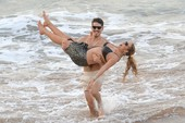 Mariah Carey Suffers a Nipple Slip at the Beach in Hawaii