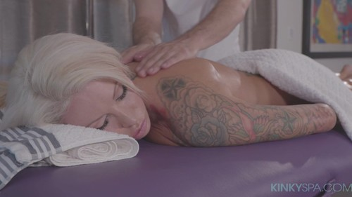 Big Tit Tattooed Blonde Lolly Ink Gets Fucked By Her Hot Masseur  E76 [HD]