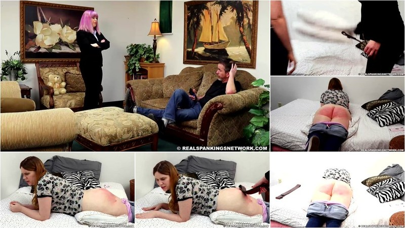 Betty - Alex Spanked with the Belt [FullHD 1080p]