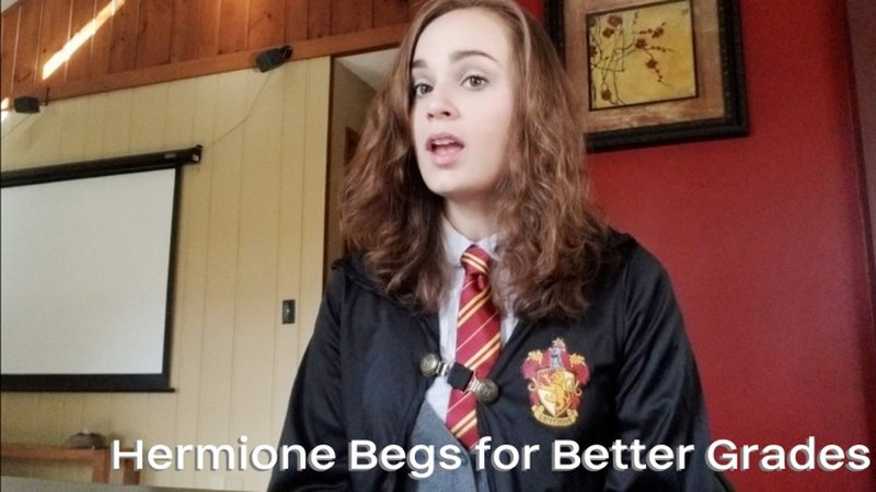 Nina Crowne – Hermione Begs for Better Grades