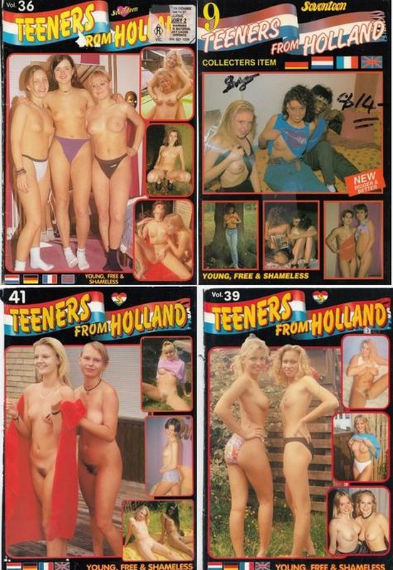 16 Magazines - Teeners From Holland (1980s) JPG