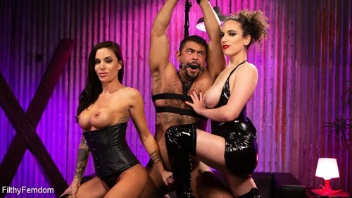 Gia DiMarco, Mistress Blunt, Draven - Filthy Femdom