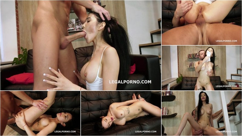 Melissa Rel Welcome to Porn with Balls Deep Anal, Manhandle, Gapes and Cum in the Mouth GL138 [HD 720P]