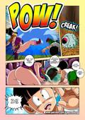 Super Melons - Carnal debts (Dragon Ball Z XXX comic parody)