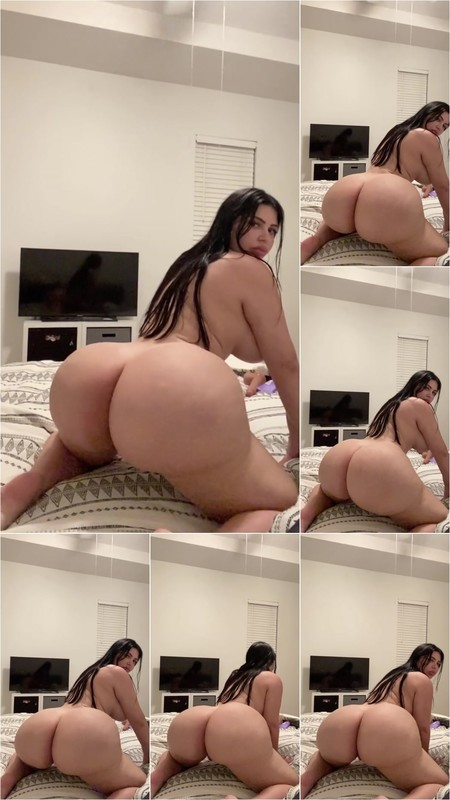 Crystal Lust - Shaking Big Ass in Slow Motion you will Nut Fast [FullHD 1080P]