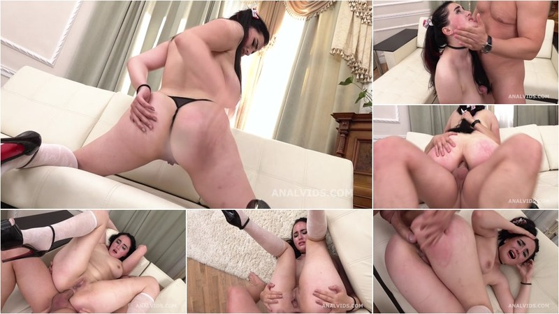 Mr. Anderson's Anal Casting Alexa Black Welcome to Porn with Balls Deep Anal, Gapes and Cum in Mouth GL241 [HD 720P]