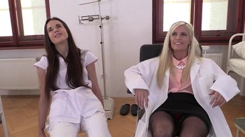 Hot hypno threesome in the hospital