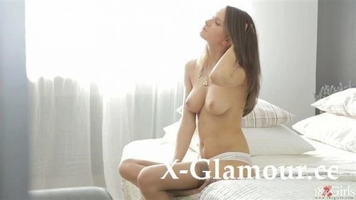 Nika Goes At Fingering Herself In Her Stockings [FullHD]