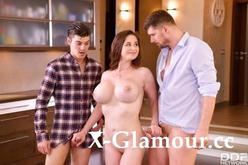 Busty Milf Fucked By Two [SD]