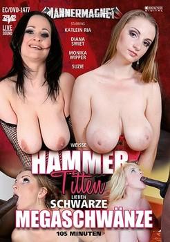 Weisse Hammertitten Lieben Schwarze Megaschwänze (2019)