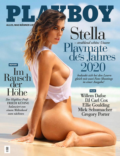 Playboy Germany -August 2020 Cover
