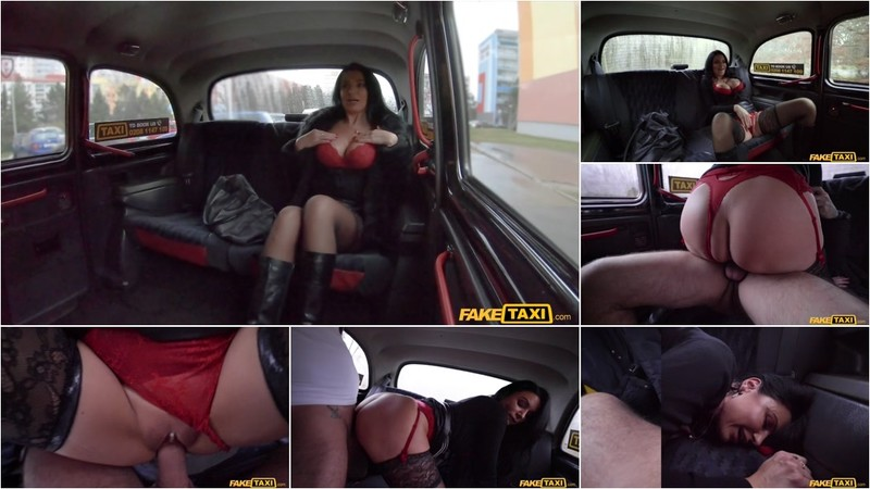Ania Kinski - French MILF in Red Lingerie [FullHD 1080P]