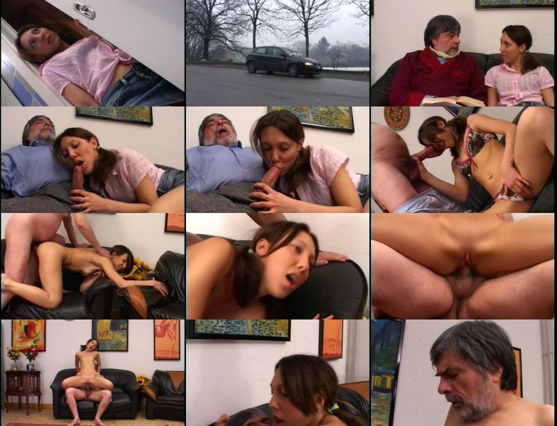 Daddy Decided To Teach First Anal Lesson To His Little Daughter