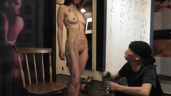 Naked Asian Exotic Art Performance - Nude Asian Public Theatre 7xaris2jgk0x