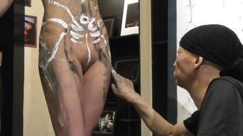 Naked Asian Exotic Art Performance - Nude Asian Public Theatre Dhh6tki398f4