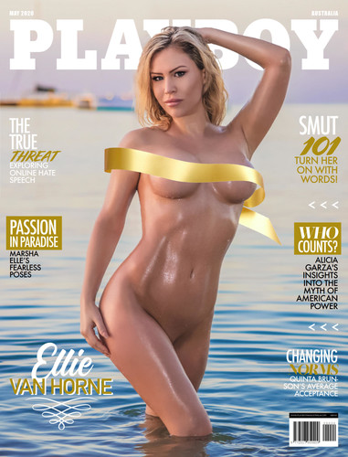 Playboy Australia May 2020 Cover