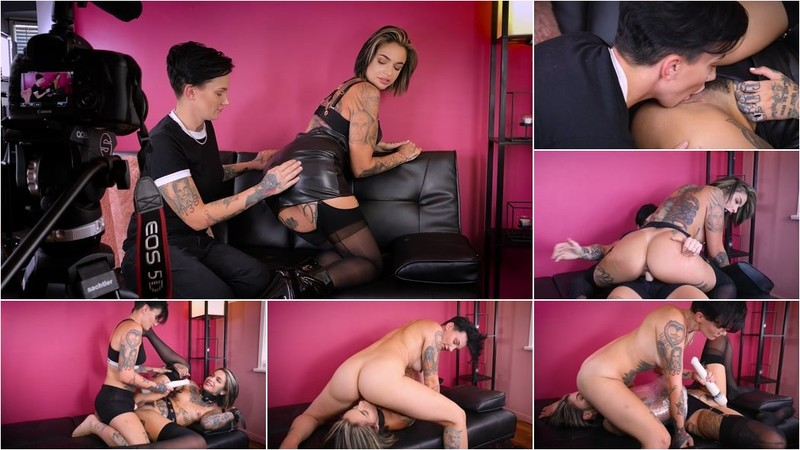 Leigh Raven, Nikki Hearts - The Interview: A Real - Life Couple's Kinky Role Play! [HD 720p]