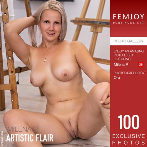Milena P in Artistic Flair (09-22-2020)